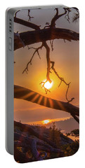 Sun Ornament - Cropped Portable Battery Charger