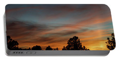 Sun Pillar Sunset Portable Battery Charger