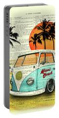 Sun Sea Beach And Fun Portable Battery Charger