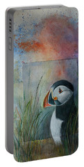 Sun Set Puffin Portable Battery Charger