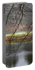 Portable Battery Charger featuring the photograph Sun Shower by Bill Wakeley