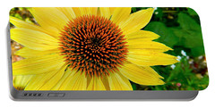 Sun Soaked Echinacea Portable Battery Charger