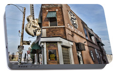 Sun Studio - Memphis #1 Portable Battery Charger by Stephen Stookey