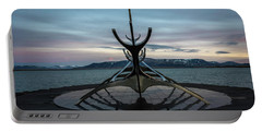 Sun Voyager At Dawn Portable Battery Charger by Scott Cunningham