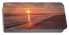 Portable Battery Charger featuring the photograph Sunburst At Sunset by Doug Camara