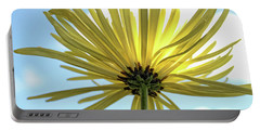 Portable Battery Charger featuring the photograph Sunburst by Judy Vincent