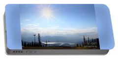 Sunburst Over Lake Dillon Portable Battery Charger