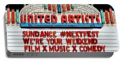 Sundance Next Fest Theatre Sign 1 Portable Battery Charger