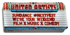 Sundance Next Fest Theatre Sign 1 Portable Battery Charger