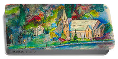 Sunday Evening In Skaneateles Ny Portable Battery Charger