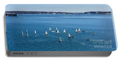 Sunday Sailing School On Casco Bay Portable Battery Charger