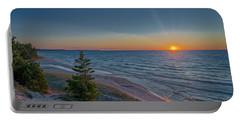 Sundown At Beaver Creek Portable Battery Charger