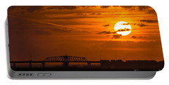 Sundown On The Charleston Coast  Portable Battery Charger