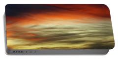 Sundown Sky  Portable Battery Charger by Carol F Austin