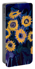 Sunflower 1 Portable Battery Charger by Rabi Khan