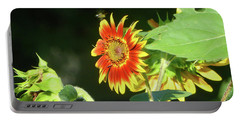 Sunflower 2016 4 Of 5 Portable Battery Charger by Tina M Wenger