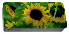 Portable Battery Charger featuring the photograph Sunflower 2017 5 by Buddy Scott