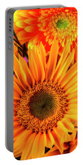 Sunflower And Daisy Portable Battery Charger