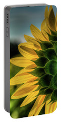 Sunflower Blooming Detailed Portable Battery Charger