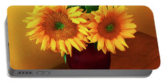Sunflower Corner Portable Battery Charger