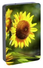 Portable Battery Charger featuring the photograph Sunflower Field by Christina Rollo