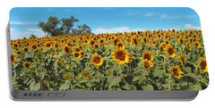 Sunflower Field One Portable Battery Charger