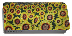 Sunflower Fields  Forever Portable Battery Charger by Jeffrey Koss