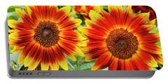 Sunflower Garden Portable Battery Charger