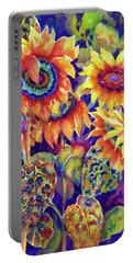 Sunflower Garden I Portable Battery Charger
