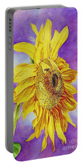 Sunflower Gold Portable Battery Charger