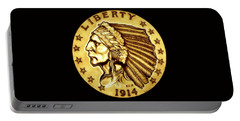 Sunflower Gold Quarter Eagle Portable Battery Charger