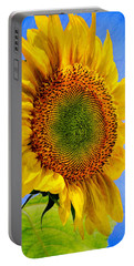 Sunflower Plant Portable Battery Charger