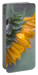Portable Battery Charger featuring the photograph Sunflower Haze by Arlene Carmel