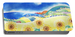 Sunflower Hills Portable Battery Charger