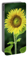 Sunflower In Bloom Portable Battery Charger
