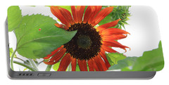 Sunflower In The Afternoon Portable Battery Charger