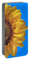 Sunflower In The Sun Portable Battery Charger
