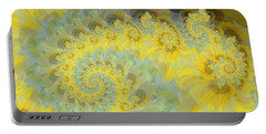Sunflower Infused Portable Battery Charger