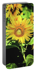 Portable Battery Charger featuring the photograph Sunflower by Jessica Manelis