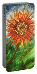 Sunflower Joy Portable Battery Charger