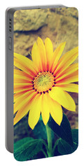 Portable Battery Charger featuring the photograph Sunflower by Lucia Sirna