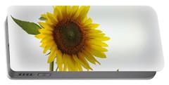 Sunflower Minimal Portable Battery Charger by Joseph Skompski