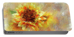 Sunflower On Fire Portable Battery Charger