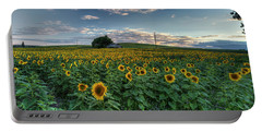 Sunflower Panorama Portable Battery Charger
