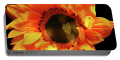 Sunflower Passion Portable Battery Charger