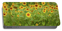 Sunflower Patch Portable Battery Charger