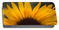 Portable Battery Charger featuring the photograph Sunflower Petals by Arlene Carmel