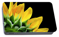 Portable Battery Charger featuring the photograph Sunflower Petals by Christina Rollo