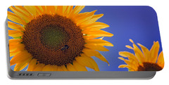 Sunflower Radiance Portable Battery Charger
