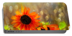 Sunflower Rain Portable Battery Charger